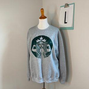 Starbucks FLEX crewneck sweatshirt